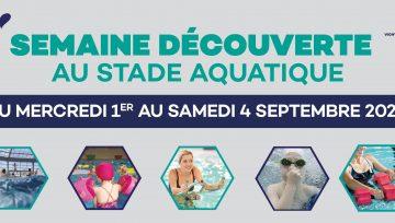 Semaine découverte au Stade Aquatique